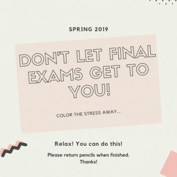 Stress Relief from Final Exams | Community College of Philadelphia