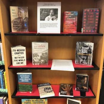 Display of Civil Rights Books