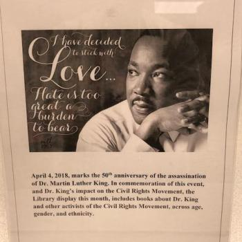 April 4, 2018 - 50th Anniversary of MLK death