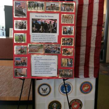 Honoring Veterans @ NERC Library