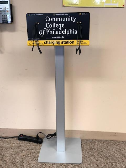 Charging Station at NWRC Library