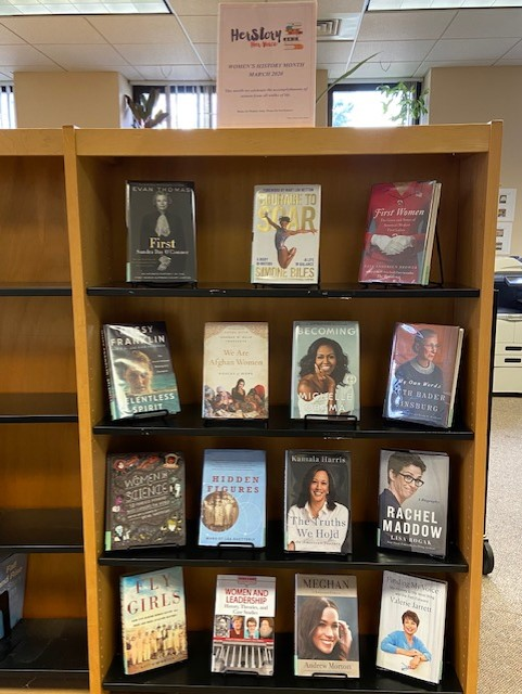 Women's History Month @ NWRC Library