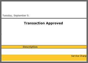 Payment Approved