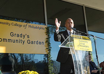 Graddy's Garden Ribbon Cutting
