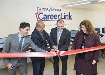 PA CareerLink Ribbon Cutting