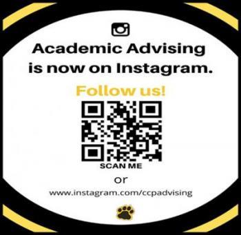 Academic Advising Instragram QR Code