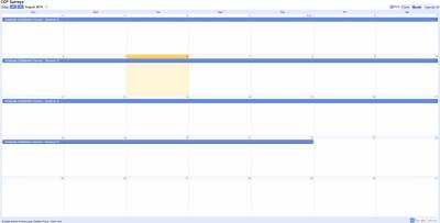 CCP Survey Calendar