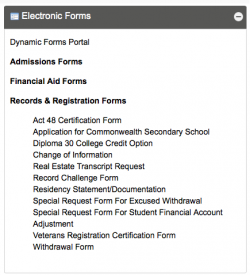 Registration Forms | Community College of Philadelphia