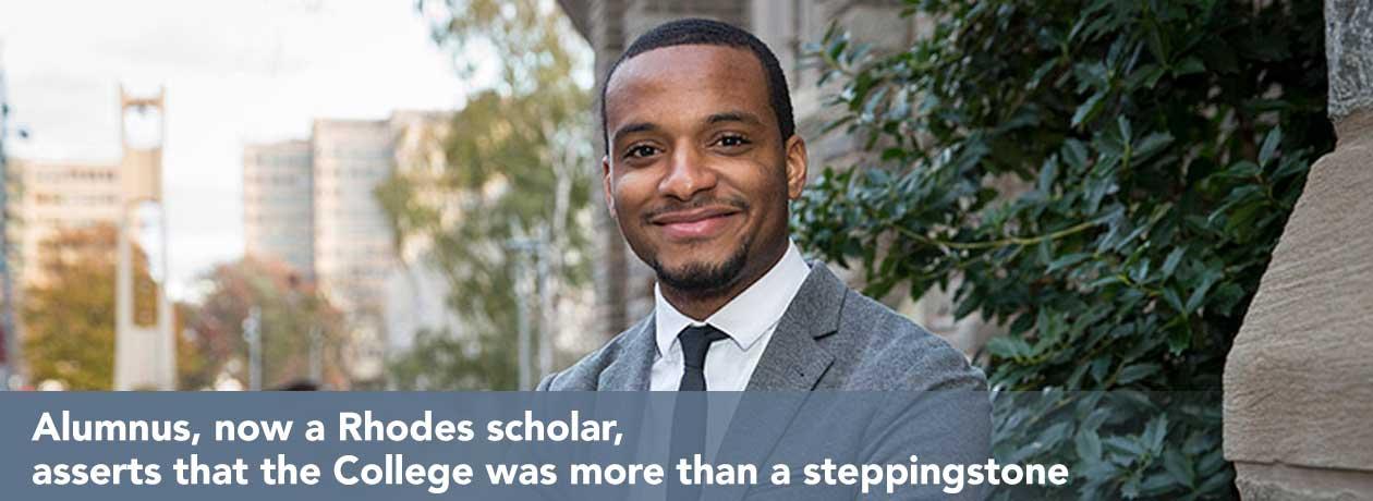 Hazim Hardeman Becomes a Rhodes Scholar
