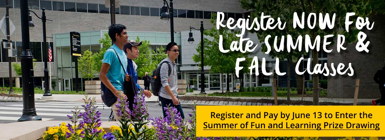 Register Summer and Fall