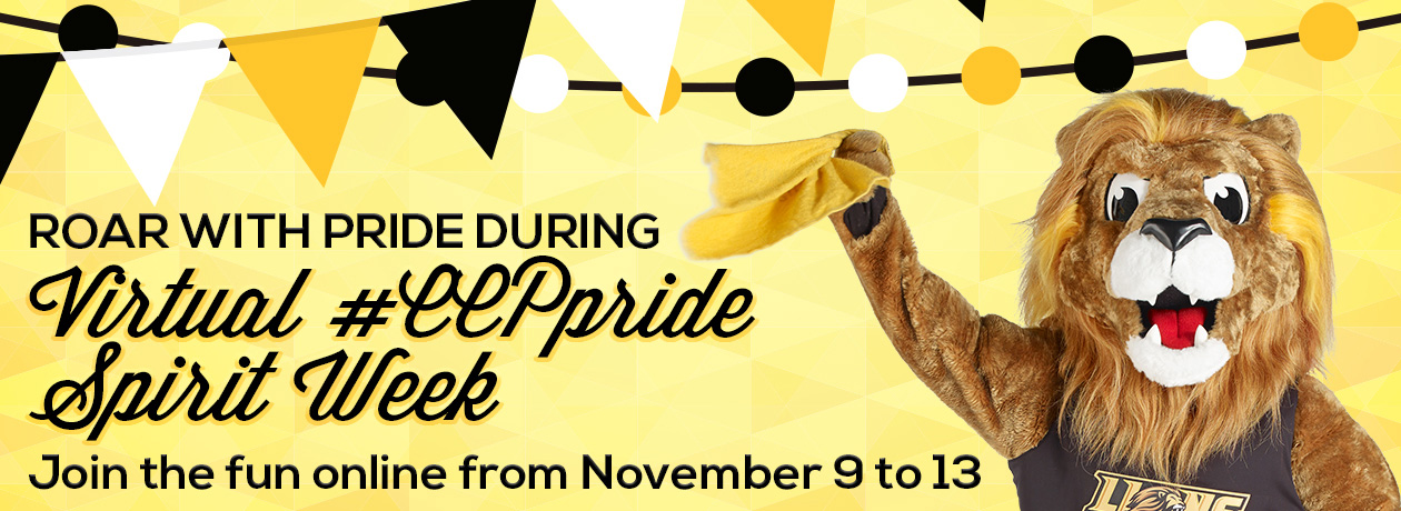 Roar With Pride During Virtual #CCPpride Spirit Week