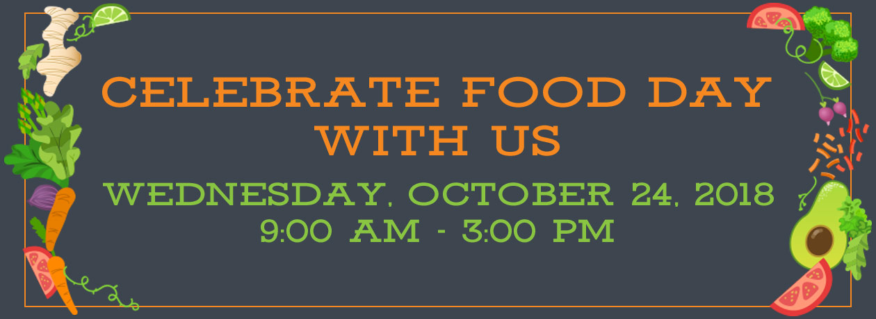 Celebrate Food Day With Us!