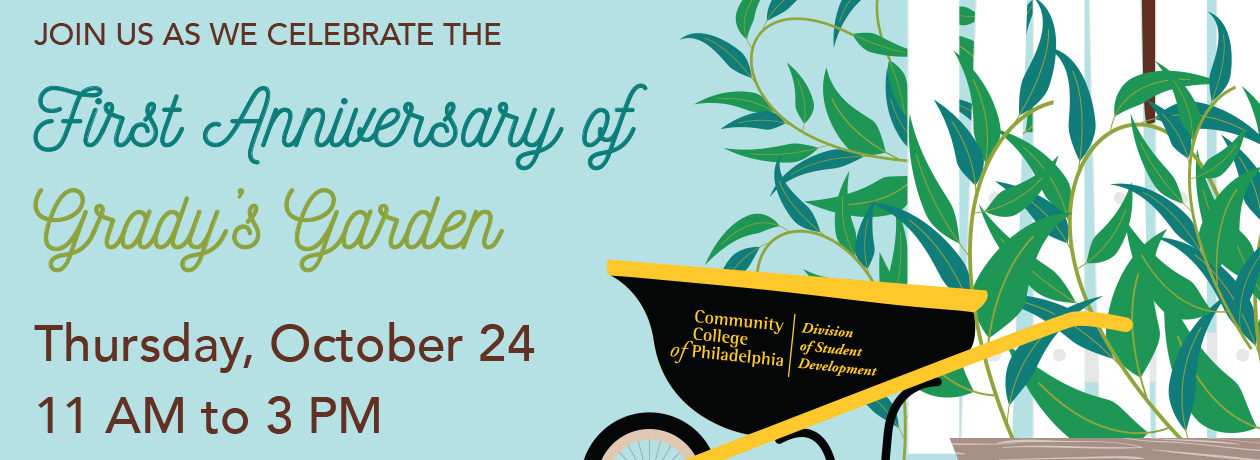 First Anniversary of Grady's Garden