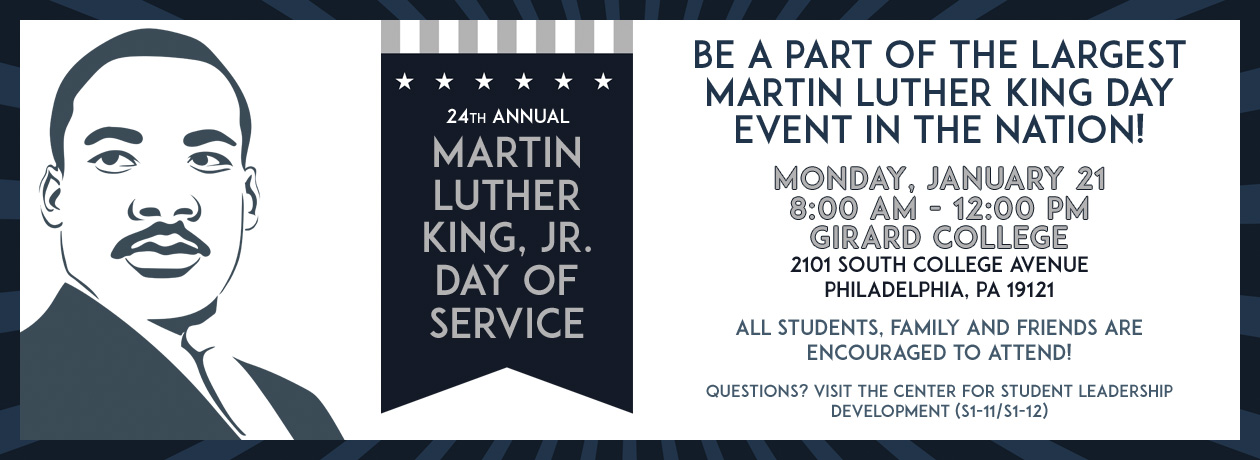 24th Annual Martin Luther King, Jr. Day of Service