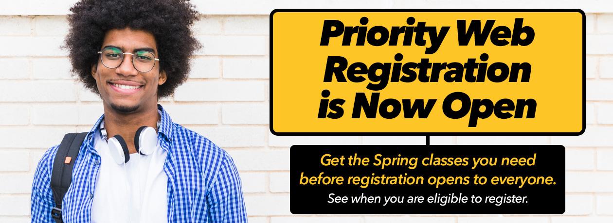 Priority Web Registration