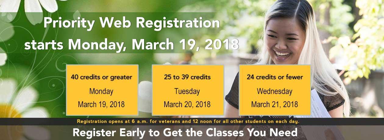 Register for Spring 2018