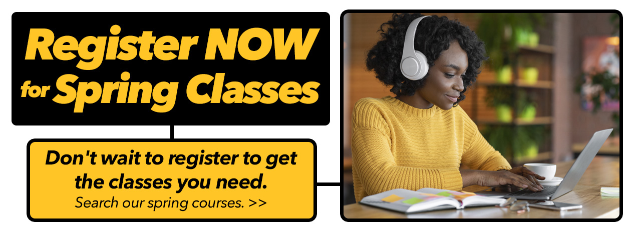 Register Now for Spring Classes