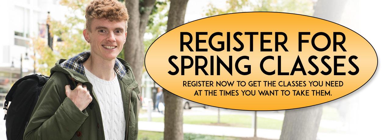 Register for Spring Classes
