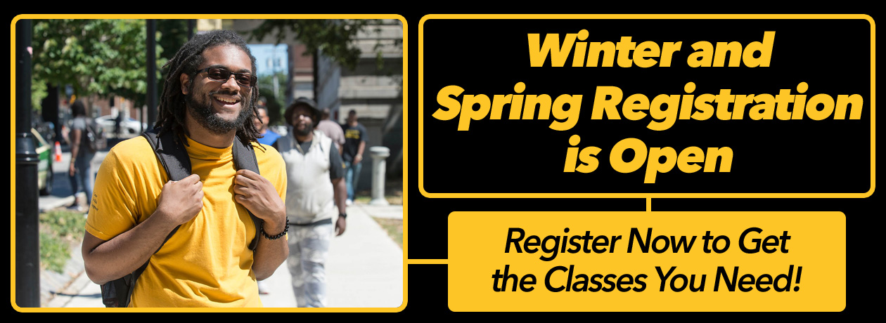 Winter and Spring Registration is Now Open