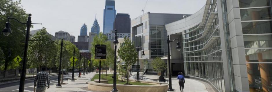 Main campus at Community College of Philadelphia.