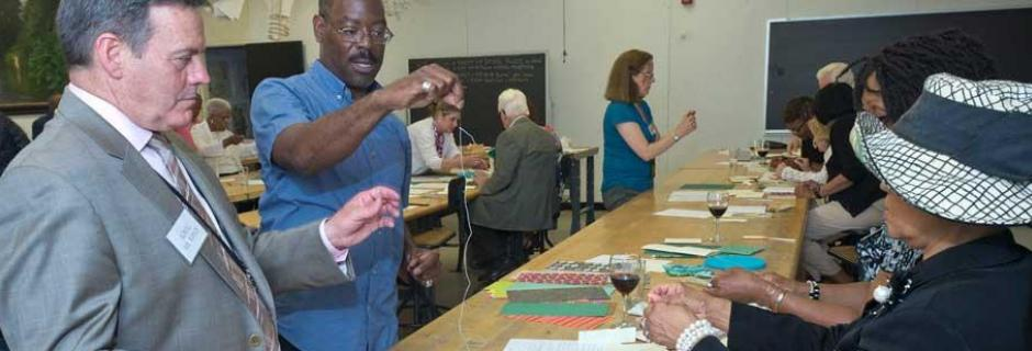 Mint Society Bookbinding workshop