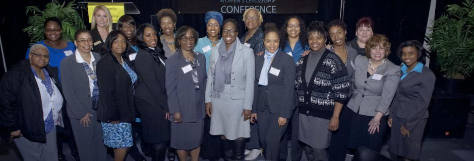 CCP participants in the Women's Leadership Conference.