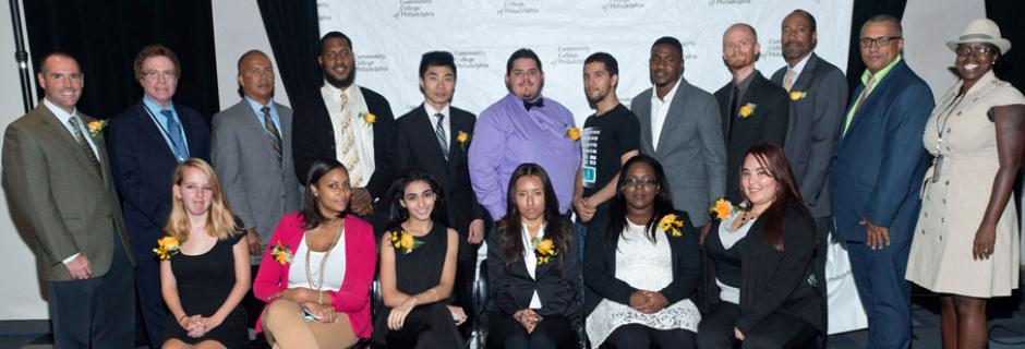 Members of student government at Community College of Philadelphia.