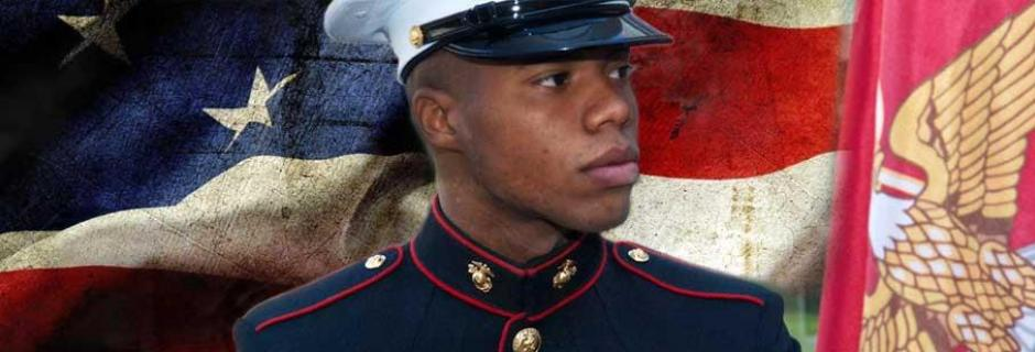 Veteran Student in Military uniform