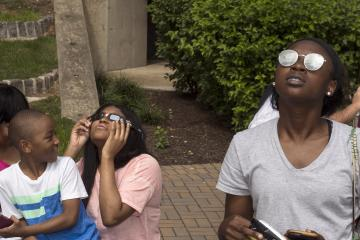 Two eclipse viewers.