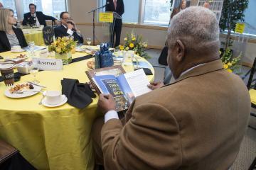 Willie Johnson reads Pathways magazine