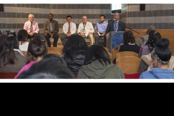 Dr. Generals opens the Diversity Dialogue.