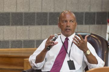 Dr. Generals talks about Latina-Latino heritage.