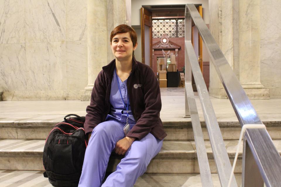 Photo of Nursing student